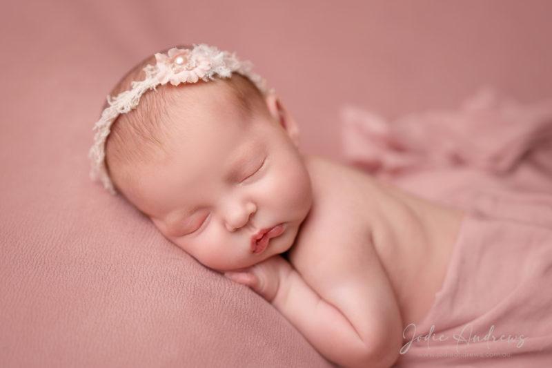 Newborn baby girl  photos Central coast