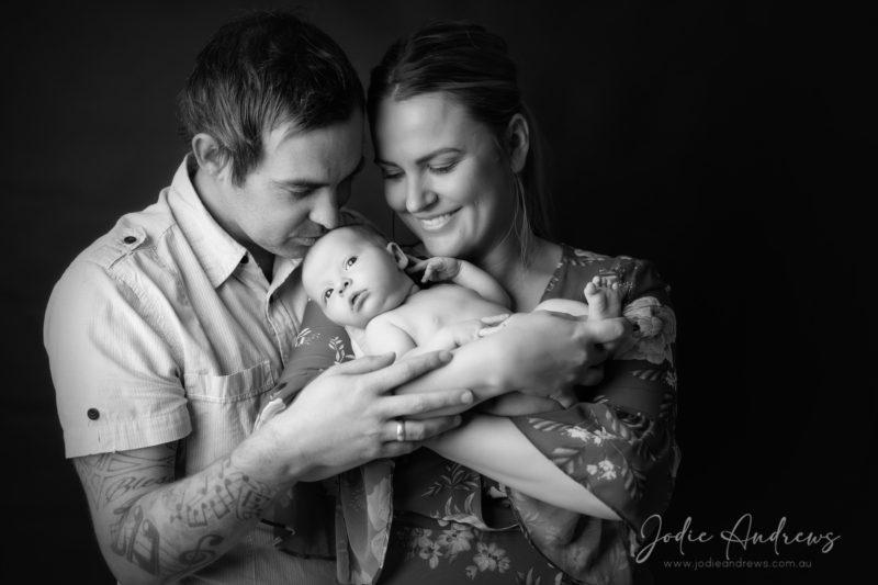 Newborn Baby Girl photo shoot central coast