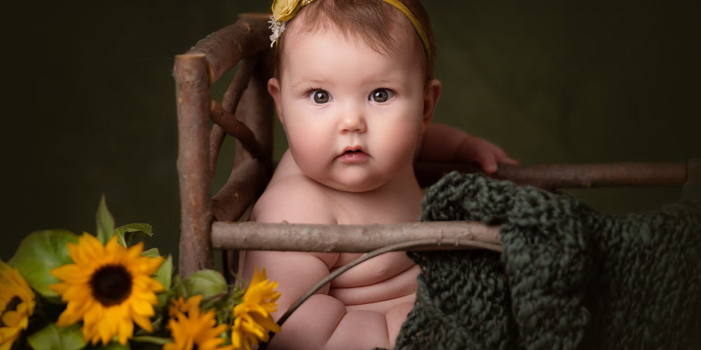 Baby Grace's Sitter Session – Jodie Andrews Photography